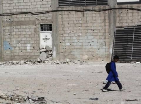 Βλήμα όλμου έπεσε σε γαλλικό σχολείο στη Δαμασκό