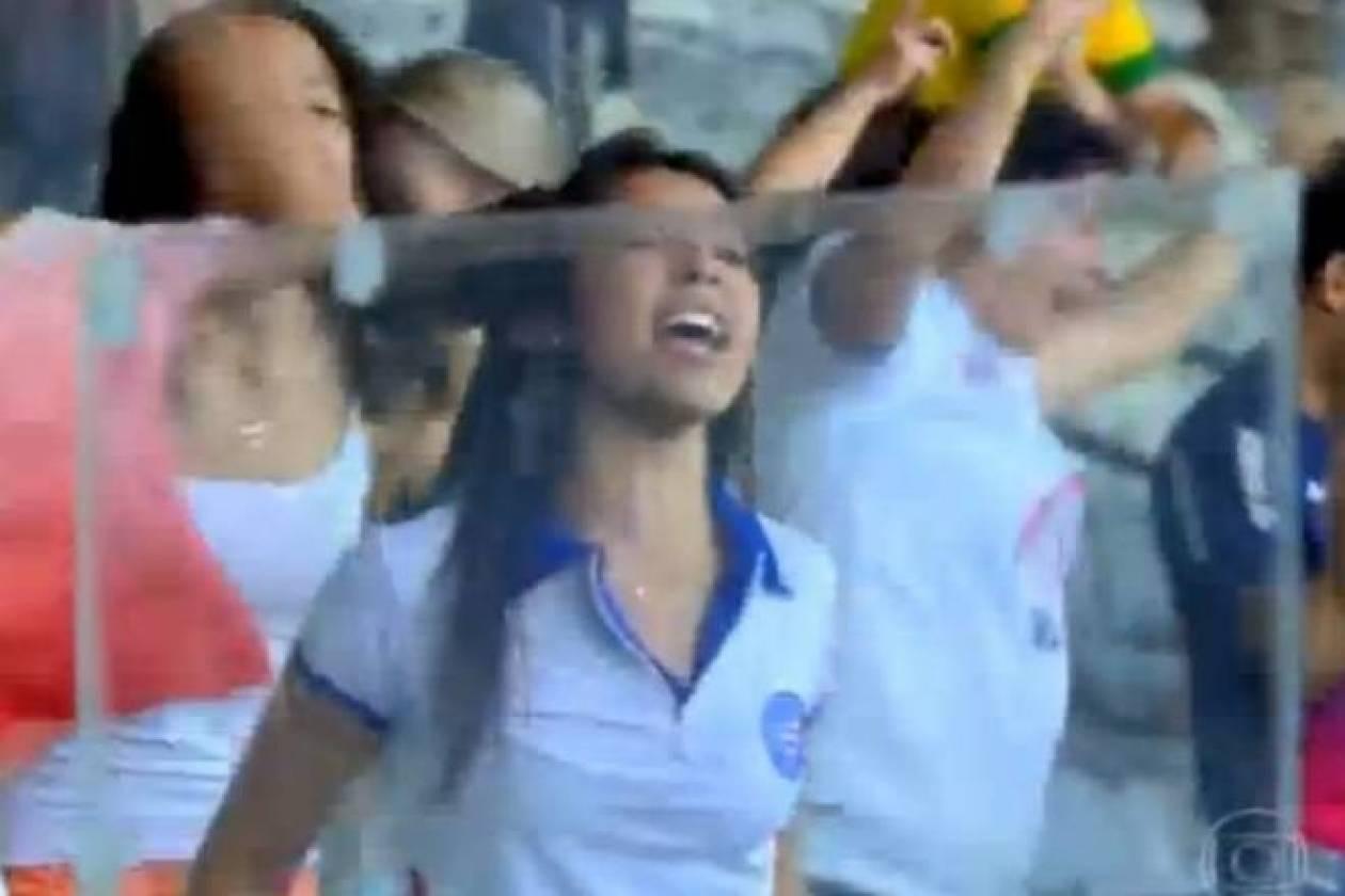 Βραζιλία  Τα… πέταξε όλα για το γκολ της Μπαΐα (video) - Newsbomb ... 05a69aefbe4
