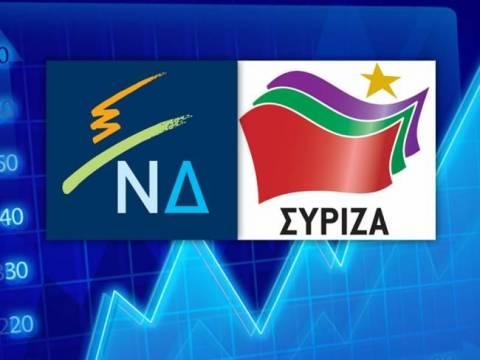 Προβάδισμα του ΣΥΡΙΖΑ έναντι της ΝΔ δείχνει νέα δημοσκόπηση