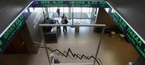 Χρηματιστήριο: Με πτώση 0,58% έκλεισε η αγορά