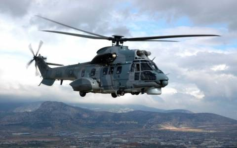 Βίντεο: Διάσωση από Ελικόπτερο Super Puma της ΠΑ στη Μονεμβασιά