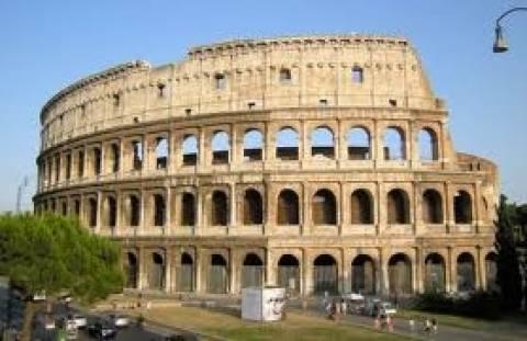 Ιταλία: Άρχισε η διαδικασία αποκατάστασης του Κολοσσαίου