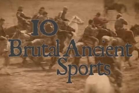 Τα δέκα πιο βίαια αθλήματα της αρχαιότητας (βίντεο)