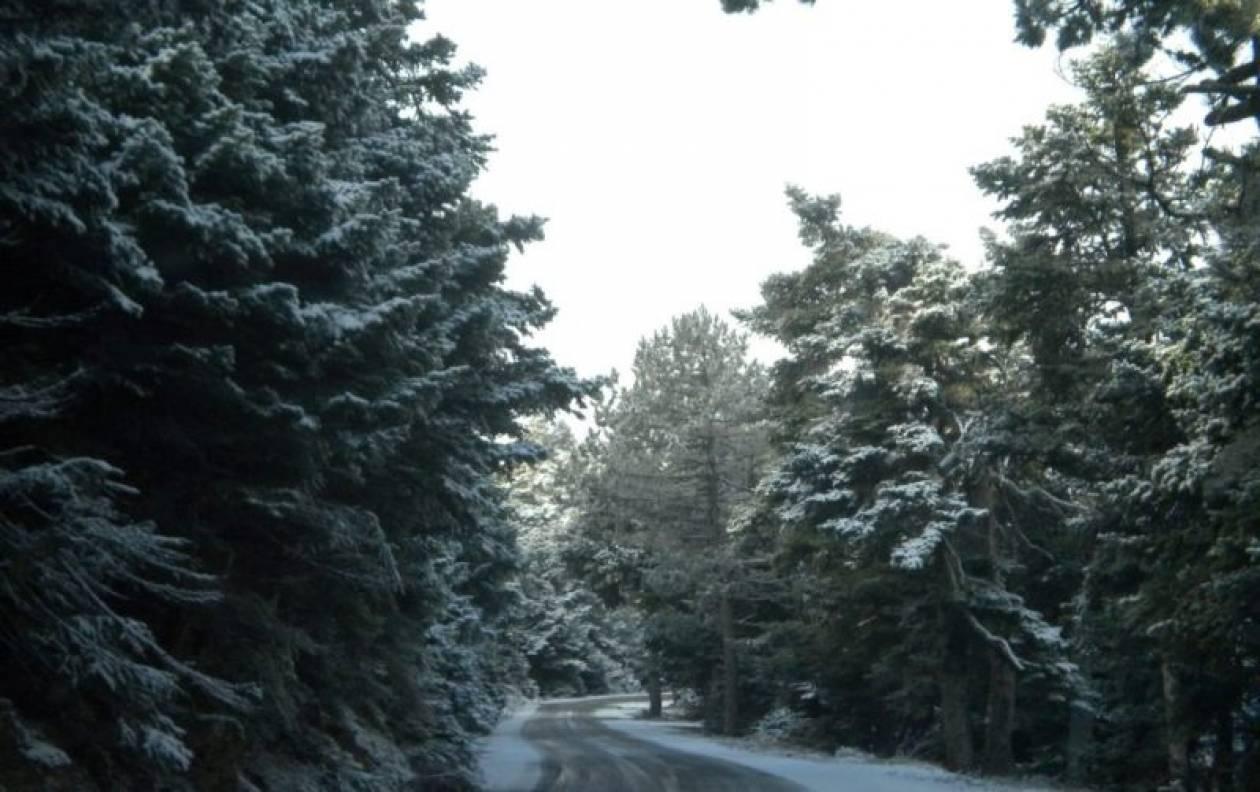 Τσουχτερό το κρύο- Δείτε πού θα χιονίσει