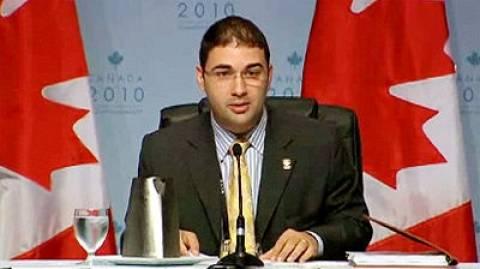 Καναδάς: Ο Δ. Σούδας διευθυντής του κυβερνώντος Συντηρητικού Κόμματος