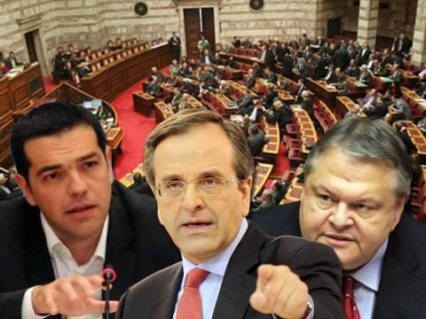 Οι ομιλίες των πολιτικών αρχηγών στη συζήτηση για τον προϋπολογισμό
