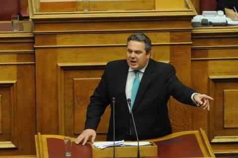 Καμμένος: Νέα πράξη στην τραγωδία του ελληνικού λαού ο προϋπολογισμός