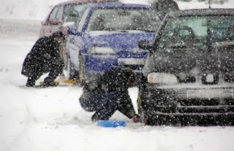 Προσοχή στους δρόμους! Παγετός σε πολλά σημεία στη Βόρεια Ελλάδα