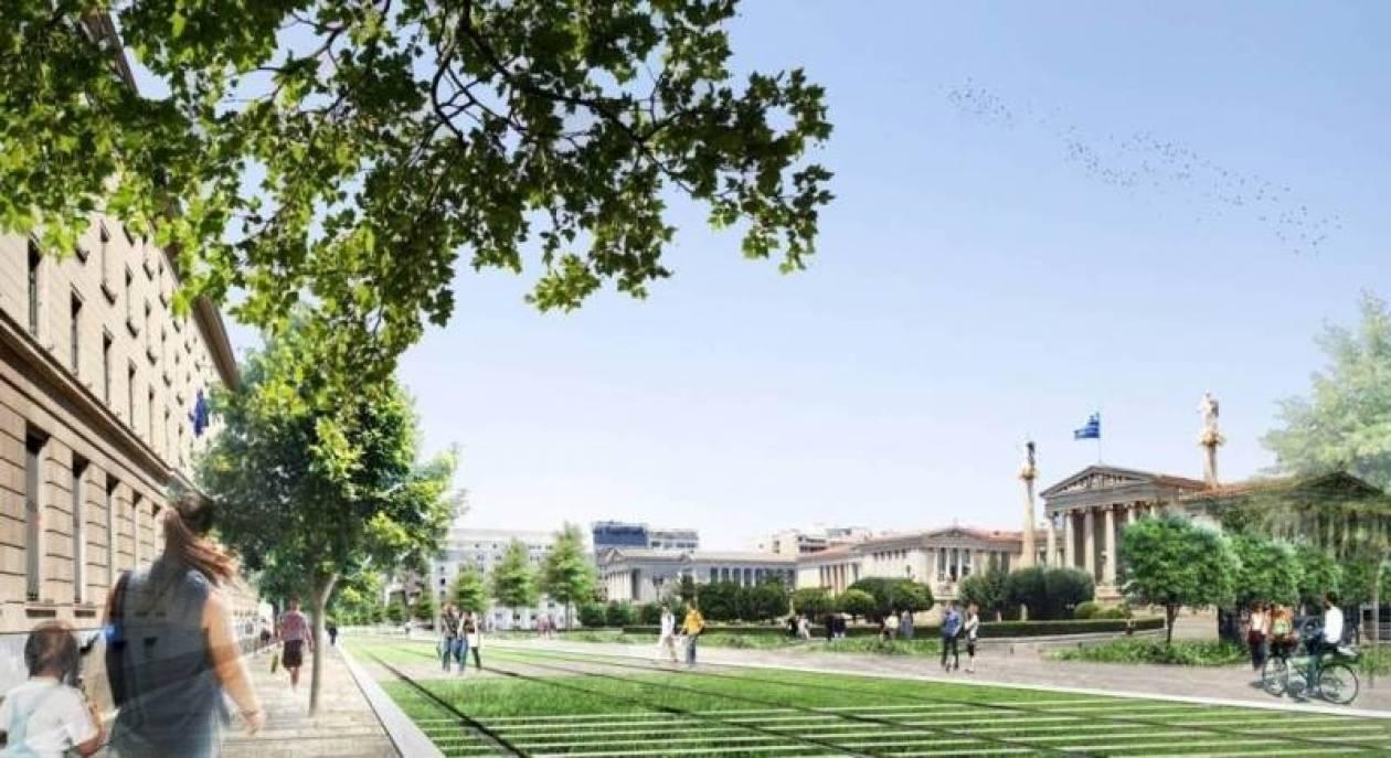 Το κέντρο της Αθήνας αλλάζει όψη (vid)