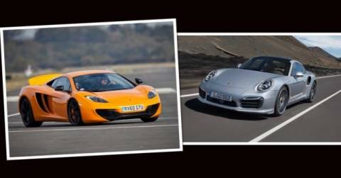 McLAREN MP4 vs Porsche 911 Turbo S: Ποια κερδίζει;