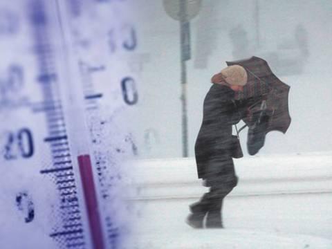 Κύμα ψύχους σε όλη τη χώρα - Χιόνια και στην Αθήνα!