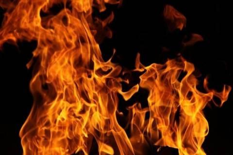 Πυρκαγιά στα κρατητήρια Φερών (βίντεο)