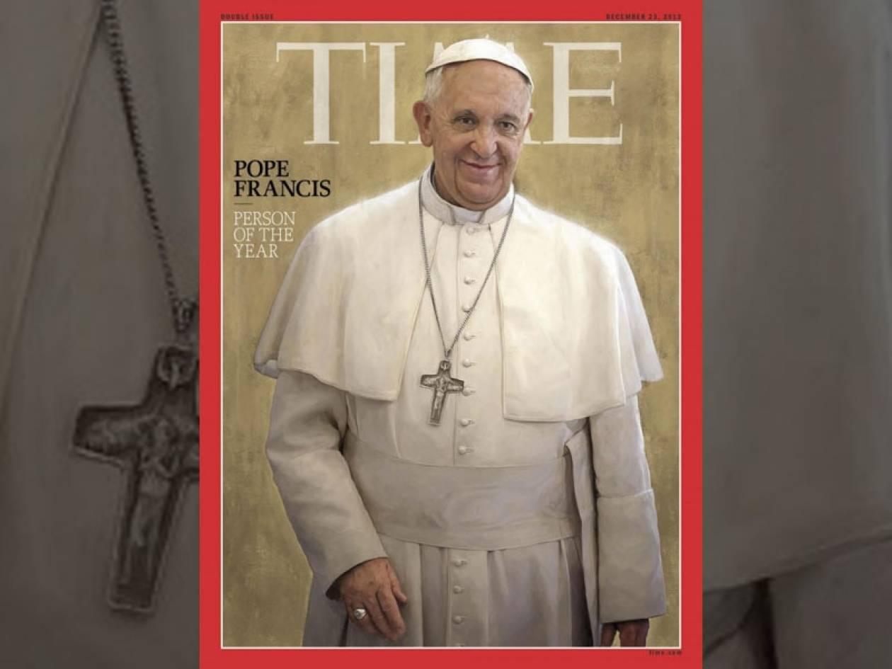 TΙΜΕ: Ο πάπας Φραγκίσκος είναι το πρόσωπο της χρονιάς