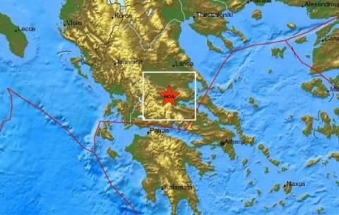 Σεισμός 4,4 Ρίχτερ στο Λιανοκλάδι