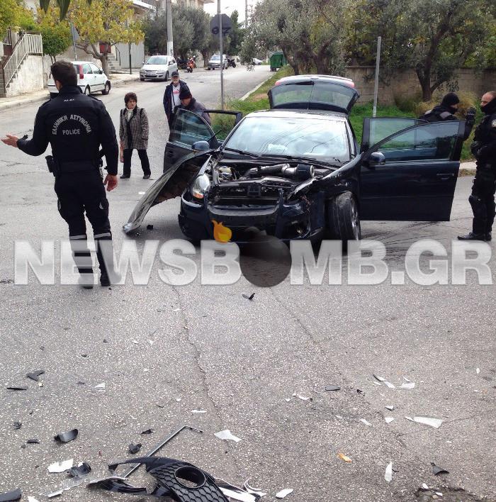 Καταδίωξη ληστών στην Ηλιούπολη – Τραυματίστηκε πολίτης