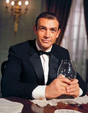 james bond sean connery martini