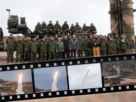 Αβραμόπουλος: Η επιτυχής βολή των S-300 αποτελεί μήνυμα!