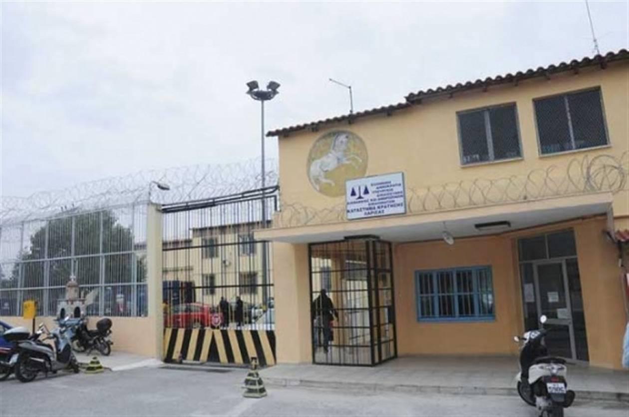 Απεργία πείνας πραγματοποιεί κρατούμενος των φυλακών Λάρισας