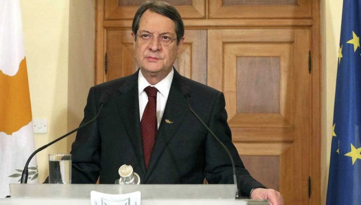 Κύπρος: Υπομονή συστήνει ο Πρόεδρος Ν. Αναστασιάδης