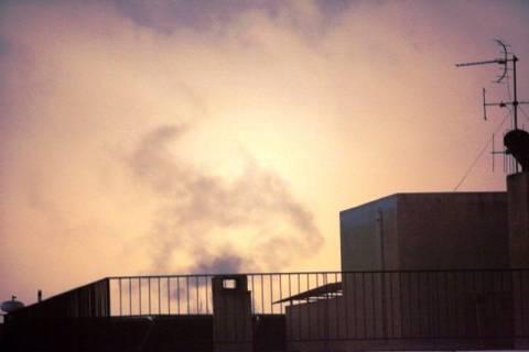 Η αιθαλομίχλη κάλυψε και την πόλη της Άρτας