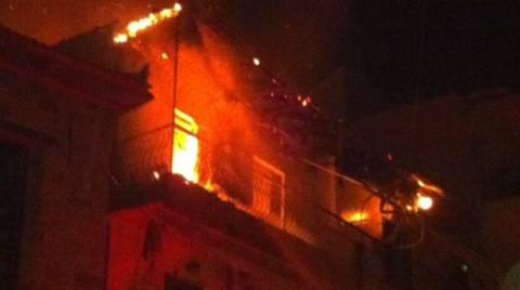 Ένας νεκρός από φωτιά σε διαμέρισμα στα Κάτω Πατήσια