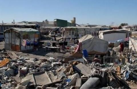 Μεγάλη επιχείρηση της ΕΛ.ΑΣ. στον καταυλισμό των Ρομά στην Αλικαρνασσό