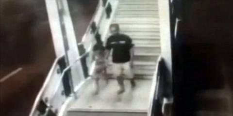 Βίντεο: 6χρονη «χέρι-χέρι» με τον άνδρα που την βίασε και την σκότωσε