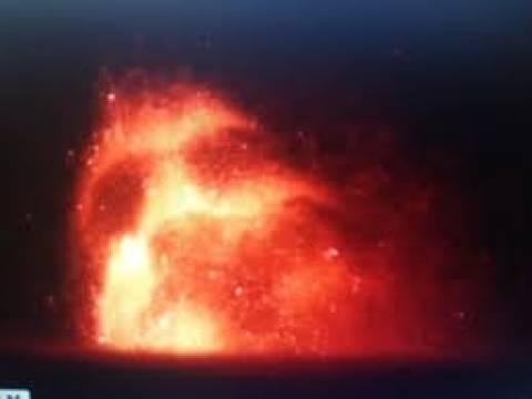 Ανατριχιαστικό βίντεο:Είδαν το πρόσωπο του διαβόλου πάνω από ηφαίστειο