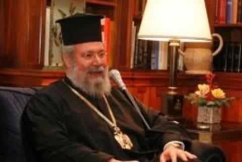Αρχιεπίσκοπος Κύπρου: Ο Ντάουνερ να μην ξαναμπεί στο Προεδρικό