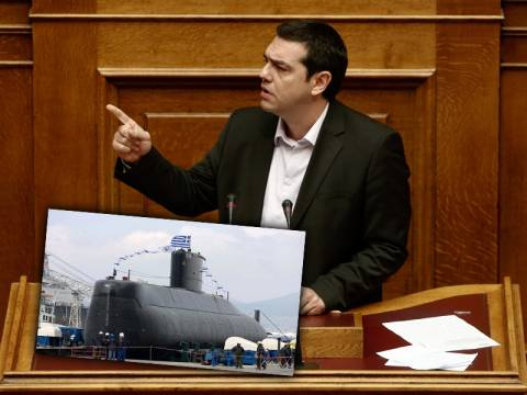 A.Τσίπρας: «Colpo grosso» η υπόθεση των υποβρυχίων