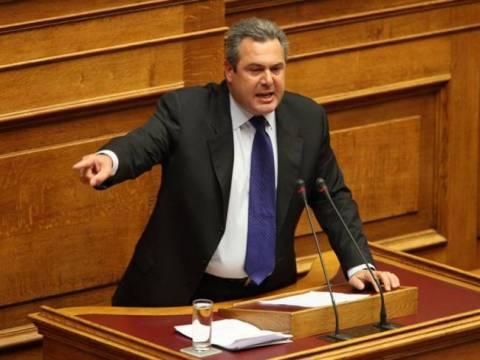 Καμμένος: Καλώ σε στάση τους Έλληνες, με βάση το άρθρο 120!