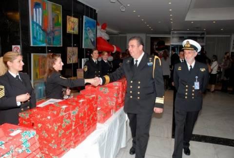 Χριστουγεννιάτικη γιορτή του ΠΝ στο Πολεμικό Μουσείο