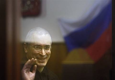 Ρωσία: O Χοντορκόφκσι κατέθεσε αίτηση προεδρικής χάριτος