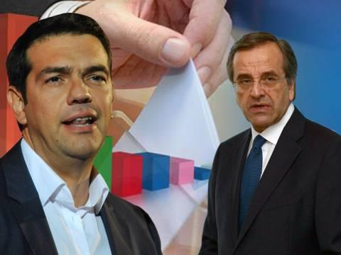 Προβάδισμα του ΣΥΡΙΖΑ έναντι της ΝΔ με 2,5%