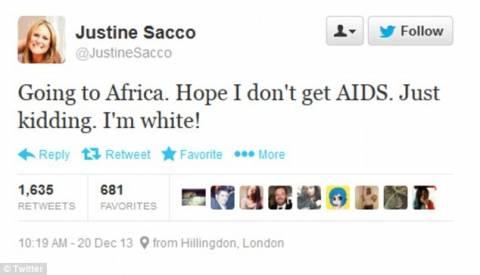 Προκάλεσε οργή στο twitter με το ρατσιστικό της σχόλιο