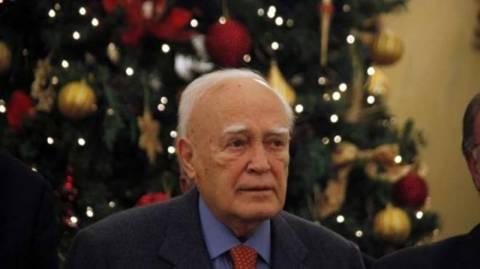 Χριστουγεννιάτικα κάλαντα στον Κ. Παπούλια (vid)