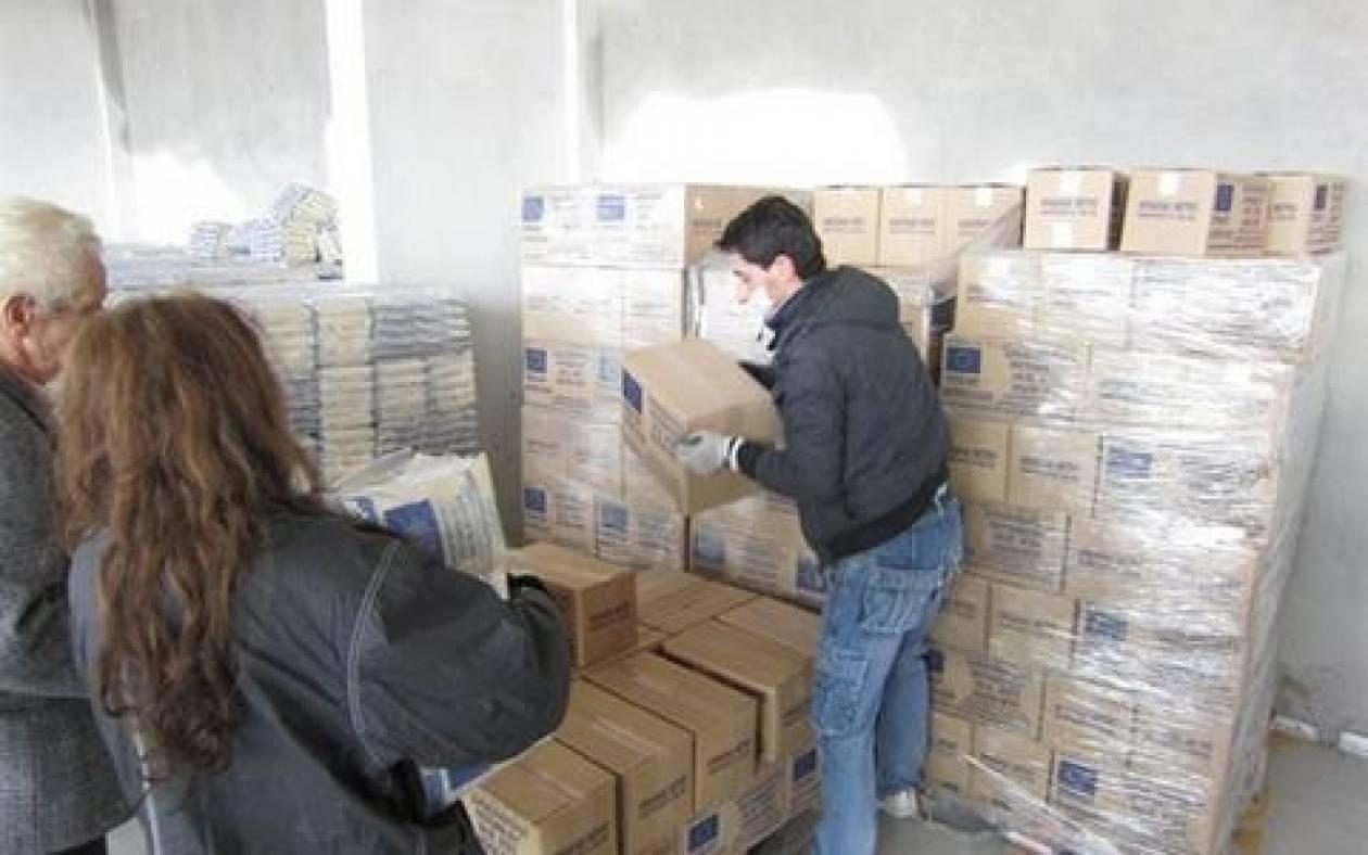 Ηράκλειο: Δωρεάν διανομή τροφίμων σε 800 οικογένειες