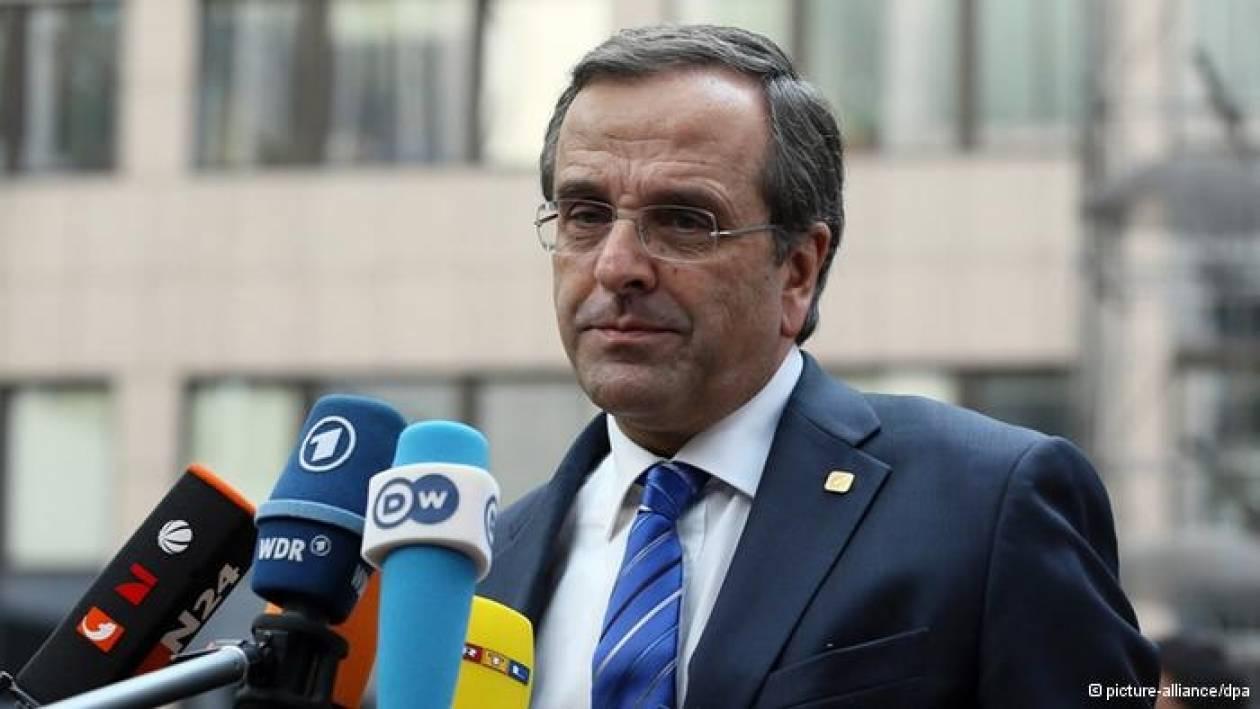 Tagesspiegel: Σε κίνδυνο η πλειοψηφία Σαμαρά