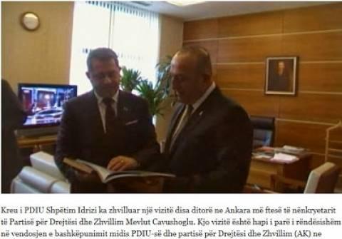 Οι Αλβανοτσάμηδες έχουν την υποστήριξη της Τουρκίας