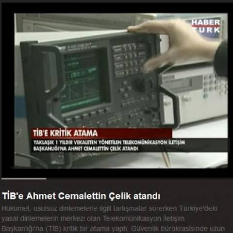 Τουρκία: Νέος επικεφαλής στην Υπηρεσία Τηλεφωνικών Υποκλοπών