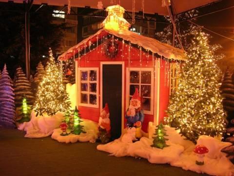 Χριστουγεννιάτικo χωριό λειτουργεί στην Ιερισσό!