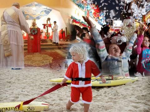 Δείτε πώς γιόρτασαν τα Χριστούγεννα σε όλο τον κόσμο (pics)