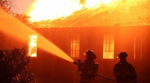 Πυρκαγιά σε σπίτι λόγω ελαττωματικής καπνοδόχου τζακιού