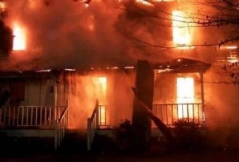 Ναυπακτία: Ηλικιωμένη κάηκε ζωντανή μπροστά στον άντρα της