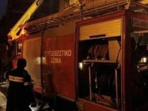 Κρήτη: Σπίτι κάηκε ολοσχερώς από φωτιά σε τζάκι