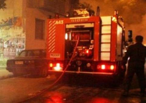 Πυρκαγιά από τζάκι σε σπίτι στην Κρήτη