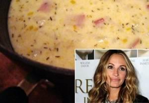 Η πιο νόστιμη πατατόσουπα από τα χεράκια της Julia Roberts