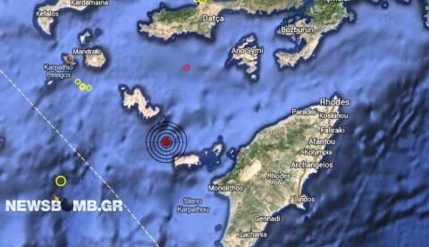 Σεισμός 3,1 Ρίχτερ στα Δωδεκάνησα