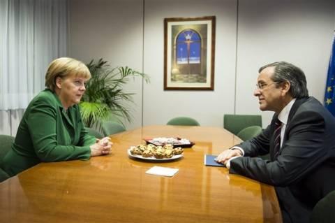 Επικοινωνία Σαμαρά-Μέρκελ για την επίθεση στο σπίτι του πρέσβη