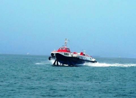 Μηχανική βλάβη για «ιπτάμενο δελφίνο» στο Πόρτο Χέλι